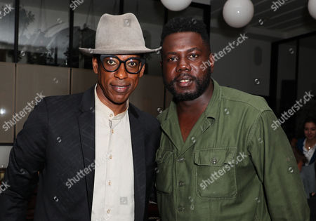 Orlando Jones and Kweku Mandela