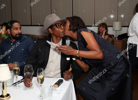 Orlando Jones and Aisha Tyler