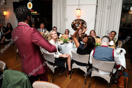 Editorial picture of CTAOP 10th Anniversary Celebration hosted by Charlize Theron and Geoffrey Zakarian, Georgie at Montage Beverly Hills, Los Angeles, USA - 30 Oct 2017
