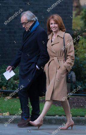Jane Asher and Gerald Scarfe arrive
