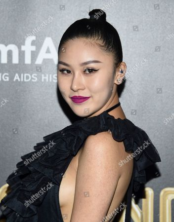 Stock Photo of Natasha Lau attends the Fabulous Fund Fair, hosted by the Naked Heart Foundation and amfAR, at Skylight Clarkson North, in New York