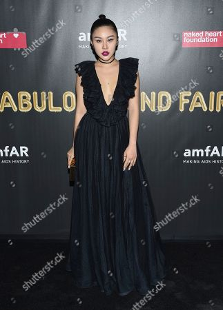 Editorial picture of Naked Heart Foundation and amfAR Fabulous Fund Fair, New York, USA - 28 Oct 2017