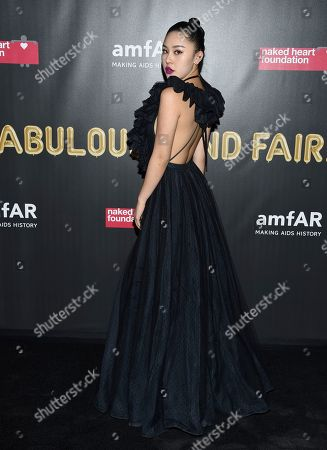 Natasha Lau attends the Fabulous Fund Fair, hosted by the Naked Heart Foundation and amfAR, at Skylight Clarkson North, in New York