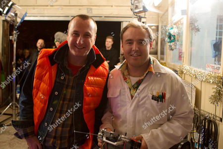 Kirk (Andrew Whyment) and Tyrone (Alan Halsall)