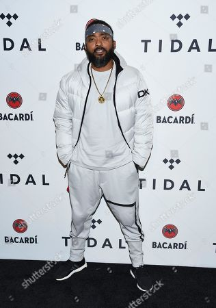 Machel Montano attends the TIDAL X: Brooklyn 3rd Annual Benefit Concert at The Barclays Center, in New York