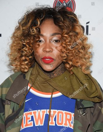 Cappie Pondexter attends the TIDAL X: Brooklyn 3rd Annual Benefit Concert at The Barclays Center, in New York