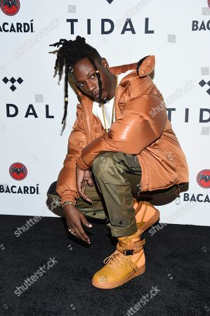 Stock Photo of Jo-Vaughn Virginie Scott aka Joey Bada$ attends the TIDAL X: Brooklyn 3rd Annual Benefit Concert at The Barclays Center, in New York