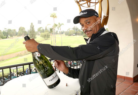 Stock Image of Rocky Carroll at the 18th Annual Emmys Golf Classic presented by the Television Academy Foundation at the Wilshire Country Club, in Los Angeles, Calif