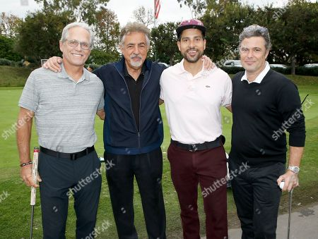Gregory Harrison, Joe Mantegna, Adam Rodriguez, Carlos Bernard. Gregory Harrison, from left, Joe Mantegna, Adam Rodriguez, and Carlos Bernard at the 18th Annual Emmys Golf Classic presented by the Television Academy Foundation at the Wilshire Country Club, in Los Angeles, Calif