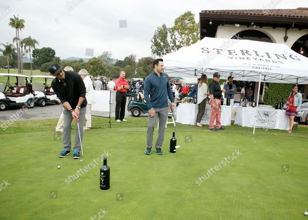 Jeffrey Nordling, Philip Boyd. Jeffrey Nordling, left, and Philip Boyd on the putting green at the 18th Annual Emmys Golf Classic presented by the Television Academy Foundation at the Wilshire Country Club, in Los Angeles, Calif