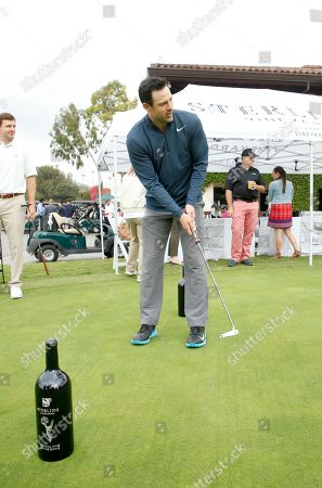Philip Boyd on the putting green at the 18th Annual Emmys Golf Classic presented by the Television Academy Foundation at the Wilshire Country Club, in Los Angeles, Calif
