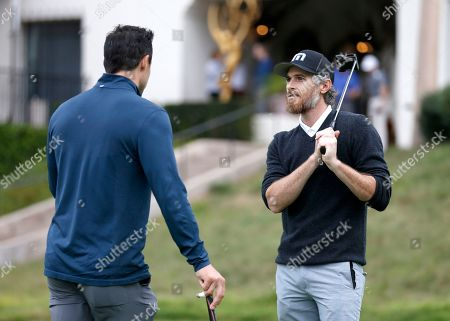 Philip Boyd, Dave Annable. Philip Boyd, left, and Dave Annable on the putting green at the 18th Annual Emmys Golf Classic presented by the Television Academy Foundation at the Wilshire Country Club, in Los Angeles, Calif