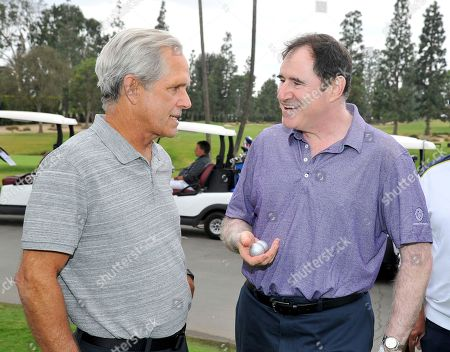 Gregory Harrison, Richard Kind. Gregory Harrison, left, and Richard Kind attend the 18th Annual Emmys Golf Classic presented by the Television Academy Foundation at the Wilshire Country Club, in Los Angeles, Calif