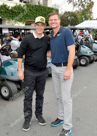 Carlos Bernard, Bailey Chase. Carlos Bernard, left, and Bailey Chase attend the 18th Annual Emmys Golf Classic presented by the Television Academy Foundation at the Wilshire Country Club, in Los Angeles, Calif