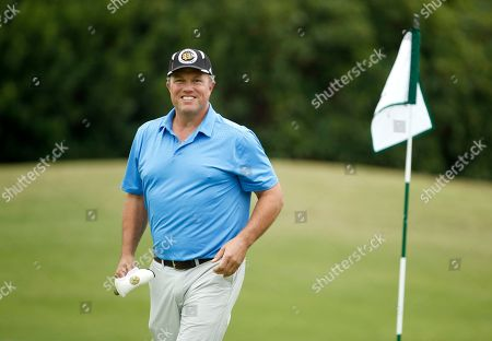 Adam Baldwin attends the 18th Annual Emmys Golf Classic presented by the Television Academy Foundation at the Wilshire Country Club, in Los Angeles, Calif