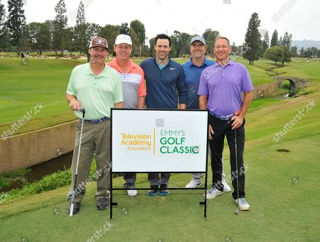 Jeff Kegley, Jim Kegley, Philip Boyd, Steven Bowen, Chris Donaldson. Jeff Kegley, from left, Jim Kegley, Philip Boyd, Steven Bowen, and Chris Donaldson attend the 18th Annual Emmys Golf Classic presented by the Television Academy Foundation at the Wilshire Country Club, in Los Angeles, Calif