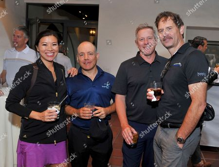 Natasha Shum, Ray Landes, Gregg Glickman, Jeff Nordling. Natasha Shum, from left, Ray Landes, Gregg Glickman, and Jeff Nordling at the 18th Annual Emmys Golf Classic presented by the Television Academy Foundation at the Wilshire Country Club, in Los Angeles, Calif