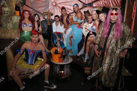 Gigi Gorgeous, Adam Westcott, Tiffany Namtu, Nats Getty, William Belli, Brian Justin Crumb, Johanna Olsen Kennedy MD, Markus Molinari