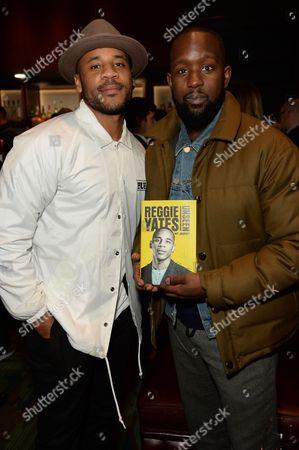 Stock Photo of Reggie Yates and Dumi Oburota