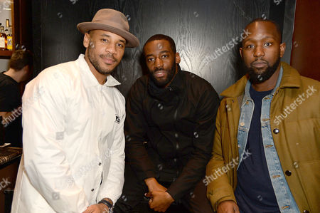 Editorial picture of Reggie Yates 'Unseen' book launch, The Curtain hotel, London, UK - 30 Oct 2017