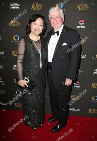 Bianca Chen, Chris Dodd.
