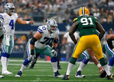 Editorial image of Packers Cowboys Football, Arlington, USA - 08 Oct 2017