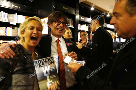 Editorial photo of Robert Peston's 'WTF' book launch, London, UK - 30 Oct 2017