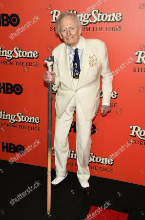 "Author Tom Wolfe attends the world premiere of ""Rolling Stone: Stories From The Edge"" at Florence Gould Hall, in New York"