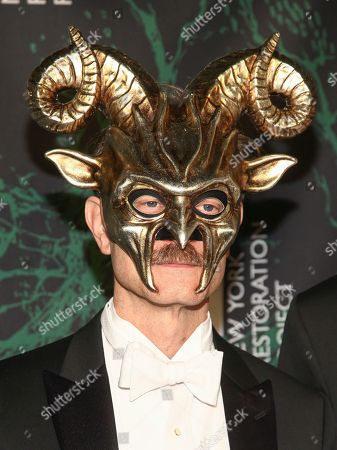 David Hyde Pierce attends Bette Midler's 21st Annual Hulaween Party, hosted by the New York Restoration Project, at the Cathedral of St. John the Divine, in New York