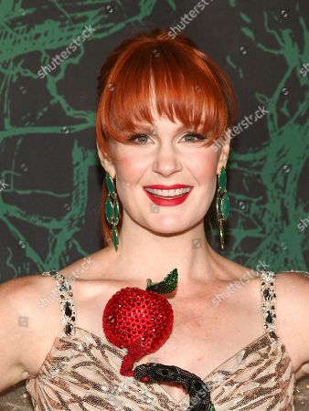 Kate Baldwin attends Bette Midler's 21st Annual Hulaween Party, hosted by the New York Restoration Project, at the Cathedral of St. John the Divine, in New York
