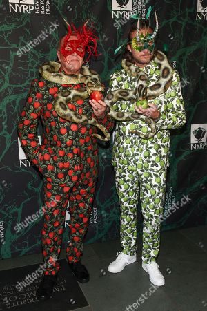 Michael Kors, Lance LePere. Michael Kors, left, and Lance LePere, right, attend Bette Midler's 21st Annual Hulaween Party, hosted by the New York Restoration Project, at the Cathedral of St. John the Divine, in New York