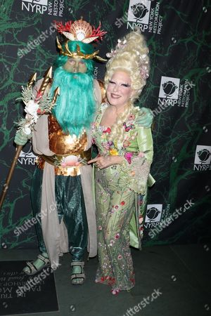 Editorial picture of Bette Midler's Hulaween Party benefiting The New York Restoration Project, Arrivals, New York, USA - 30 Oct 2017