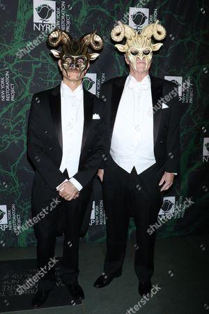 David Hyde Pierce and Brian Hargrove