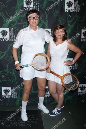Judy Gold and Elysa Halpern