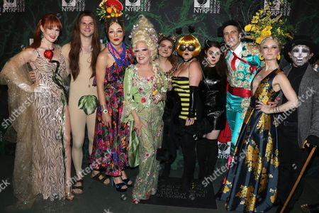 Kate Baldwin, Will Burton, Taylor Trensch, Bette Midler, Melanie Moore, Jennifer Simard, Beanie Feldstein, Gavin Creel and members of the cast of Broadway's Hello, Dolly!