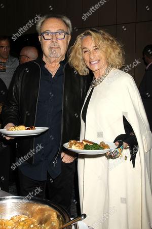 Mick Jones and  Ann Dexter-Jones