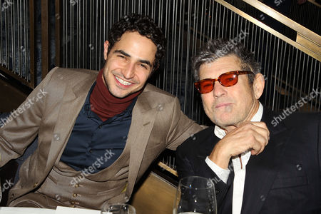 Zac Posen and Jann Wenner