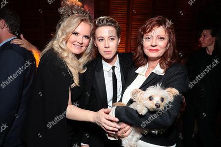 Suzanne Todd, Producer, Sophie Watts, President, STX Entertainment, Susan Sarandon