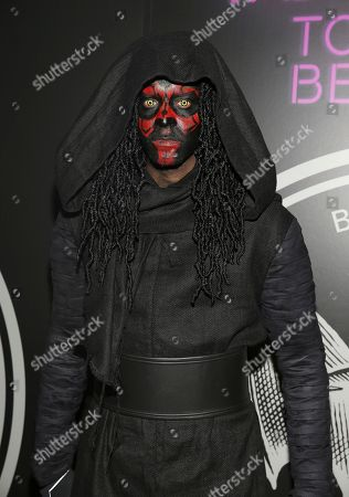 Chef Roble Ali attends Bacardi's Dress To Be Free Halloween party at House of Yes, in New York