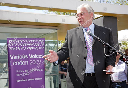 Richard Barnes, Assistant Mayor of London opening the Various Voices Festival