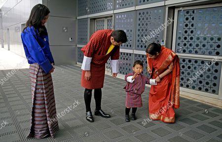 Editorial picture of Bhutan, New Delhi, India - 31 Oct 2017