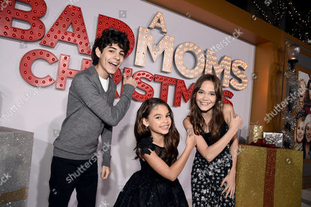 Editorial photo of STX Films Los Angeles Premiere of A BAD MOMS CHRISTMAS at the Regency Village Theatre, Los Angeles, CA, USA - 30 Oct 2017