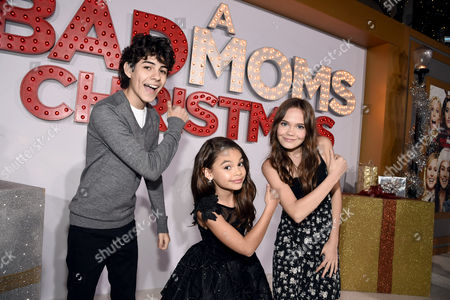 Editorial picture of STX Films Los Angeles Premiere of A BAD MOMS CHRISTMAS at the Regency Village Theatre, Los Angeles, CA, USA - 30 Oct 2017