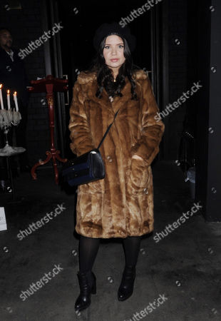 Editorial photo of Thea Green Nails launch, London, UK - 30 Oct 2017