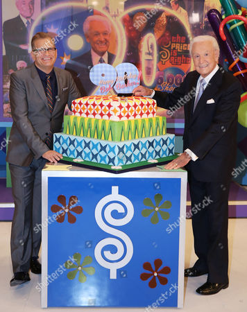 "Editorial picture of CORRECTION ""The Price is Right"" Special Appearance by Bob Baker to Celebate his 90th Birthday, Los Angeles, USA"