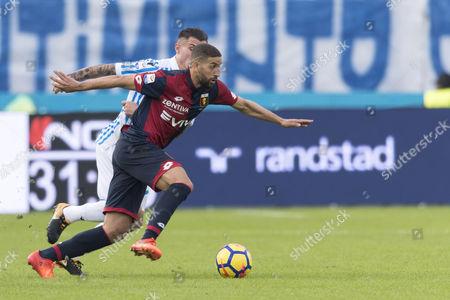 (F-B) Adel Taarabt (Genoa), Federico Viviani (SPAL)