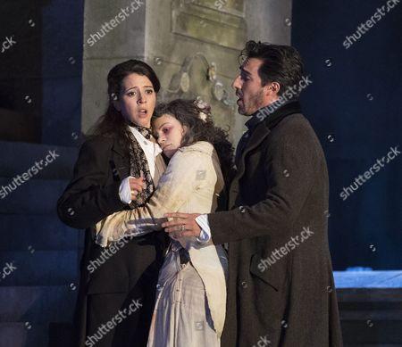Lisette Oropesa as Lucia, Sacha Plaige as Ghost,  Charles Castronovo as Edgardo,