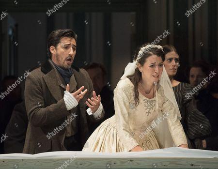 CharlesCastronova as Edgardo, Lisette Oropesa as Lucia, Rachael Lloyd as Alisa