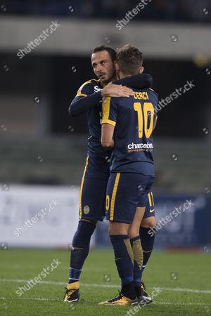 Giampaolo Pazzini and Alessio Cerci