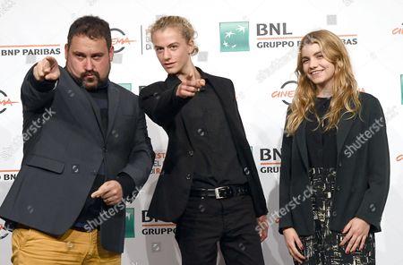 Victor Perez, Ludovico Girardello and Galatea Bellugi